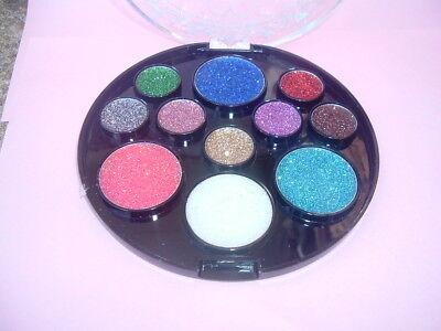HALLOWEEN PARTY GLITTER  EYESHADOW MAKEUP - Halloween Glitter Eye Makeup