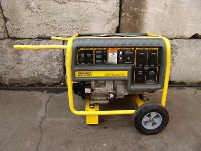 Wacker Gp5600 Generator 11hp Honda Motor Works Great 5000 Watts Mint