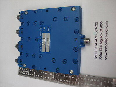 Kditriangle Microwave Yf-51 0.5-2.0 Ghz 4 Way Inphase Power Divider Combiner