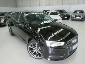 2013 Audi A3 8P MY13 Attraction Sportback S Tronic Black 7 Speed Sports Automatic Dual Clutch