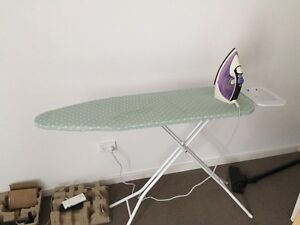 Good condition ironing table and iron box Rockdale Rockdale Area Preview