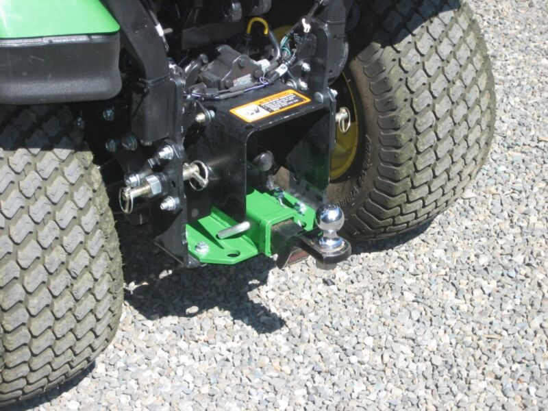 Receiver Hitch for John Deere 1023E, 1025R and 1026R Sub Compact Tractors