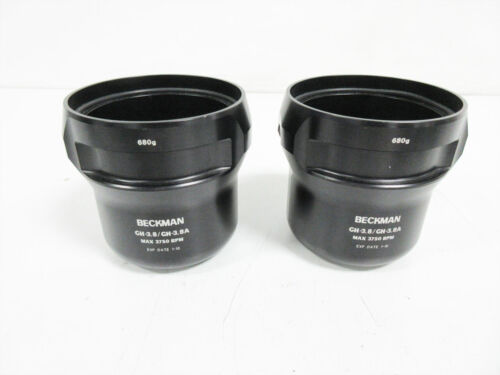 PAIR BECKMAN COULTER BUCKET 680g ~ GH-3.8 GH-3.8A
