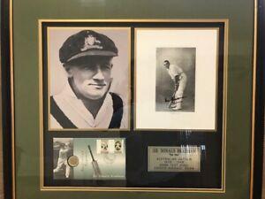 Bradman Memorabilia - Personally Signed by Sir Donald Bradman Lake Illawarra Shellharbour Area Preview
