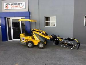 Mini Loader Skidsteer Ozziquip Puma Trenching NEW Molendinar Gold Coast City Preview