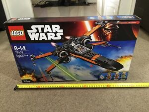 Lego Poe's X-Wing Fighter 75102 Brand New In Box Stonyfell Burnside Area Preview
