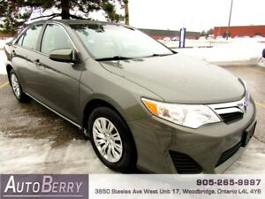 2013 Toyota Camry LE ***CERTIFIED ACCIDENT FREE*** $13,888