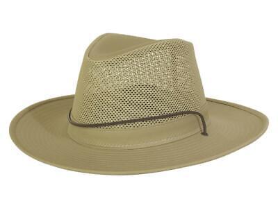 Henschel Men's UV Protection Mesh Aussie Breezer Hat