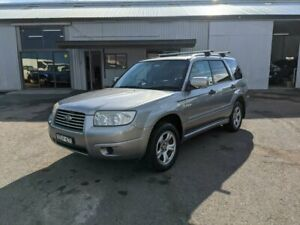2007 Subaru Forester 79V MY08 X AWD Columbia Silver 5 Speed Manual Wagon Fyshwick South Canberra Preview