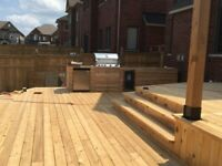 Deck building and fences
