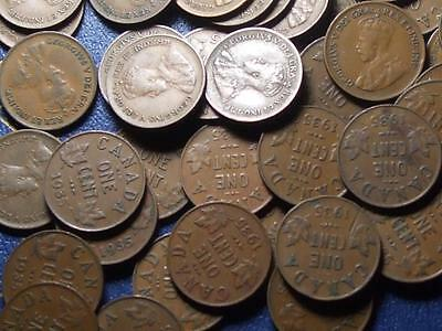 1935 CANADIAN SMALL CENTS KING GEORGE V        BUY ONE OR BUY THEM ALL