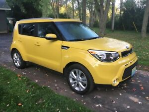 2015 Kia Soul EX+ ECO only 76000 km
