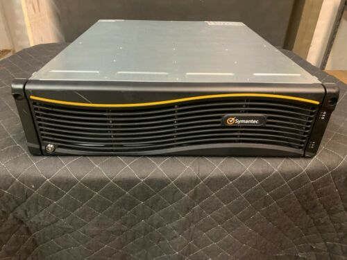 SYMANTEC 16EB 16-BAY STORAGE EXPANSION w/ DUAL I/O CONTROLLER MODULES FACEPLATE