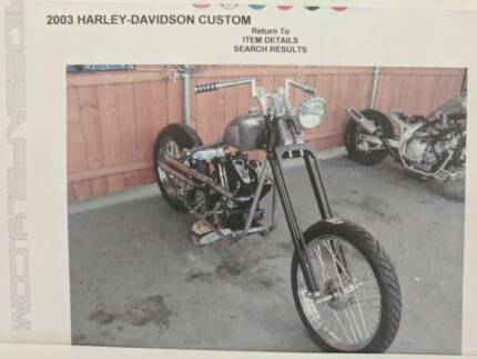 Harley Davidson 2003 Custom Chopper