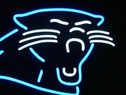Carolina Panthers Neon