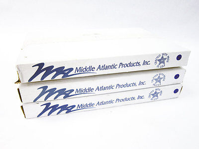 3X Middle Atlantic Secl 2 2 Space Plexiglass Security Cover With Hinge