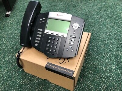 Polycom Soundpoint Ip 550 Office Phones - Lot Of 12