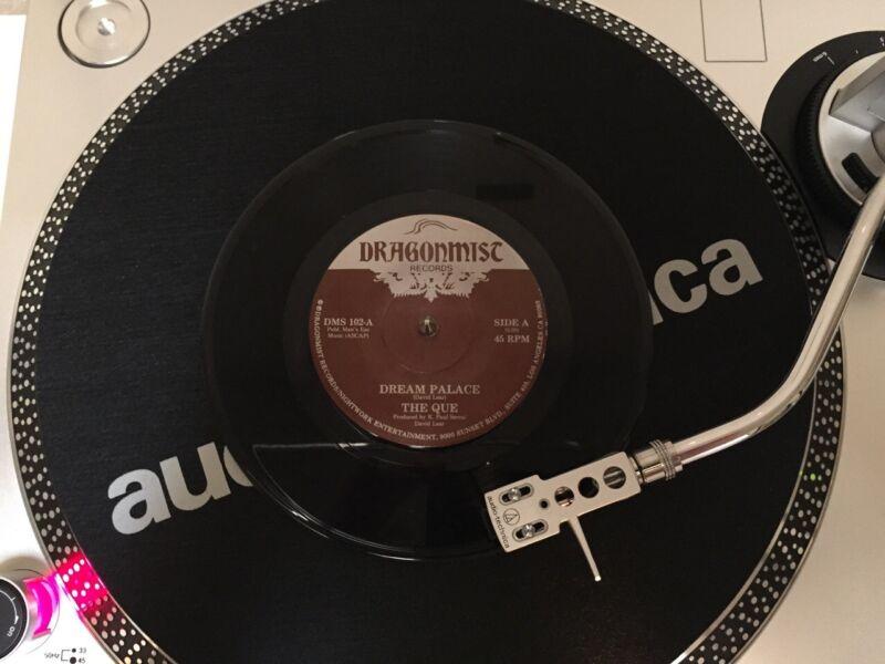 RARE THE QUE Dream Palace / We Were Talking Single 85 Vintage Vinyl Alt Rock