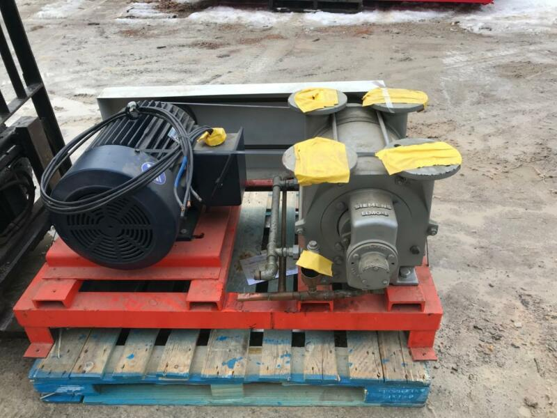 Siemens Type 2BE1153-0BY4Z Vacuum Pump Elmo-F with 30HP 230/460V  - Excellent