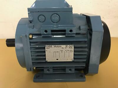 Abb Brand 3 Phase 3hp 3510 Rpm 440-480 Volt Tefc Ac Electric Motor