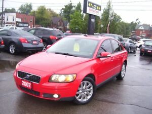 2007 Volvo S40 T5,AUTO,A/C,LEATHER,SUNROOF,ALLOYS