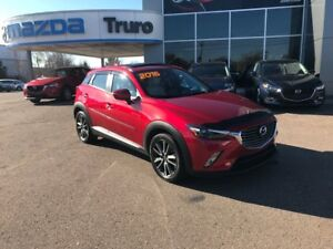 2016 Mazda CX-3 GT-TECH! BOSE! LEATHER! EXTENDED WARRANTY!!! GT-