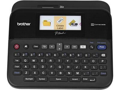 Brother P-touch Pt-d600 Pc-connectable Label Maker With Color Display Thermal T