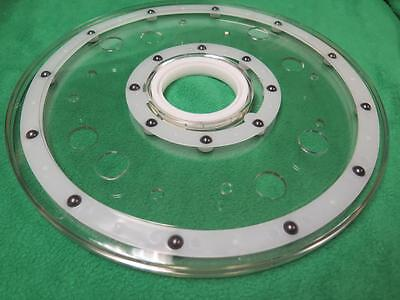 7 Pc 12 Rotating Revolving Turntable Counter Display Base Lazy Susan Spinner