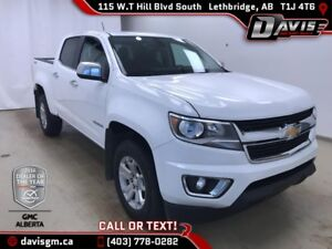 2017 Chevrolet Colorado LT 4WD, HEATED SEATS, ONSTAR 4G LTE WIFI