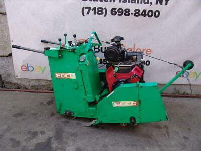 Edco Ss24-24h Honda 24hp Concrete Saw Walk Behind Self Propelled Only 267 Hours