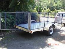 3.5m x 1.5m Tilt Deck Trailer with Detachable Cage (New) Woombye Maroochydore Area Preview