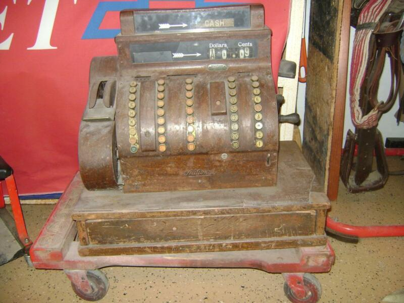 Antique National Cash Register 1924? Model # 852 S521549V