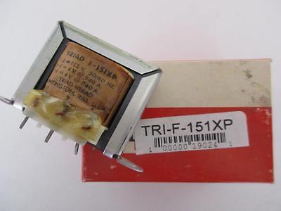 Triad Transformer F-151xp Sec 4 Or 8 V Ct .940 1.880 Amp Primary 115 Vac Pc