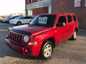 2008 Jeep Patriot 4X4/ONE OWNER/NO ACCIDENT/SAFETY/WARRANTY INCL
