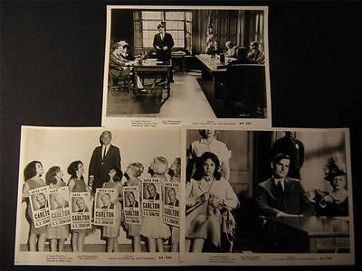 1964 June Wilkinson The Candidate VINTAGE 6 MOVIE PHOTO LOT 39Z