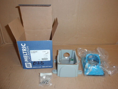 61-1a053-080-1 Meltric Corp New In Box Angle Junction Box Electrical Enclosure