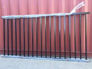 Fencing Panels 1200mm(H)x2400mm(W) Black with 40mmx40mm Rail Arndell Park Blacktown Area Preview