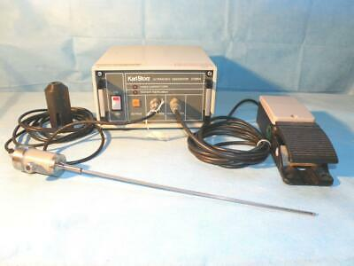 Storz 27085k Ultrasonic Generator For Lithotripsy With Transducer Footswitch