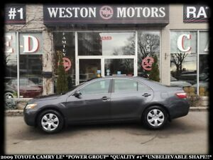 2009 Toyota Camry LE*POWER GROUP*QUALITY#1*UNBELIEVABLE SHAPE!!*