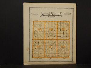 Nebraska, Dawson County Map, Blaine Township, 1919 K5#77
