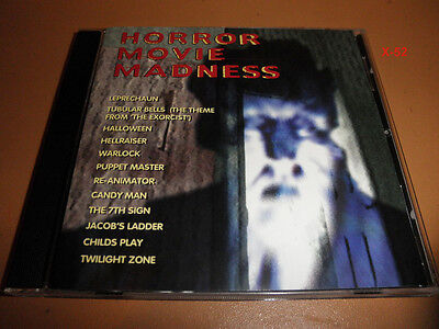 Halloween Horror Music (HORROR music CD exorcist HALLOWEEN warlock REANIMATOR candy man TWILIGHT)
