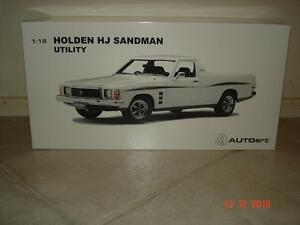 1:18 Biante Holden HJ Sandman Ute in Cotillion White