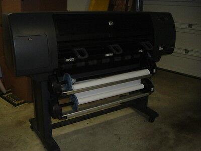 "HP Designjet 4500ps 42"" Plotter/Large-Format Inkjet Printer.Q1272A 2 ROLLS!"