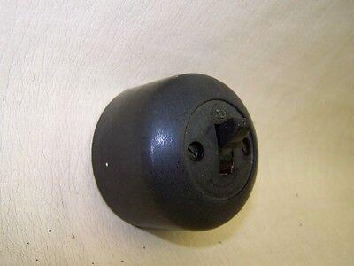 Old Bakelite Wall Light Switch Ap Box Toggle Switch, Loft