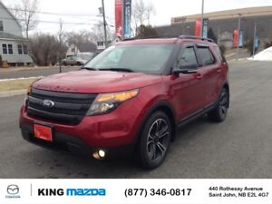 2015 Ford Explorer SPORT!  $250 B/W 7 PASS..AWD..HEATED & COOLED
