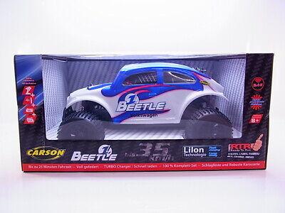 63478 Carson VW Beetle Fe 1:10 RC Auto Todoterreno Rtr 2,4 GHZ...