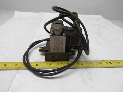 """Kip Inc solenoid valve 1//8/"""" in//out 7w No Normally closed 243111 New! 120V"""