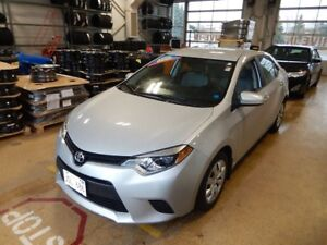 2014 Toyota Corolla LE Only 33K Kms