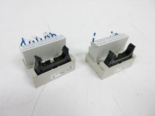 2X TOYOGIKEN PCV5-1T202 EUROPEAN STYLE TERMINAL BLOCK PCV5 SERIES