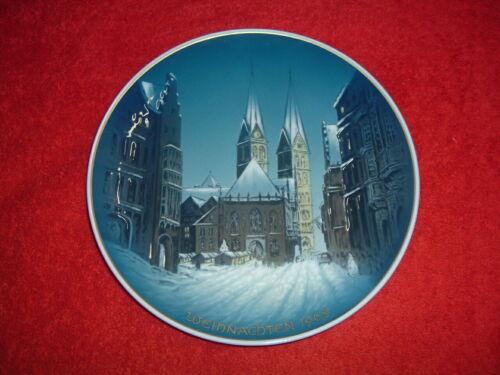 "ROSENTHAL  1968 Christmas Plate, 8 3/4"", Mint"